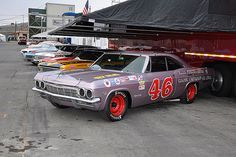 vintage NASCAR cars by centralcoastbritishcarclub1, via Flickr
