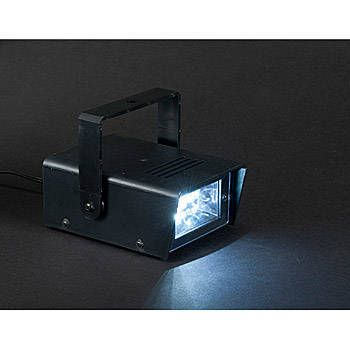 This LED Strobe Light features a bright white light that even flashes. Each LED Strobe light is made of metal and can be plugged in.