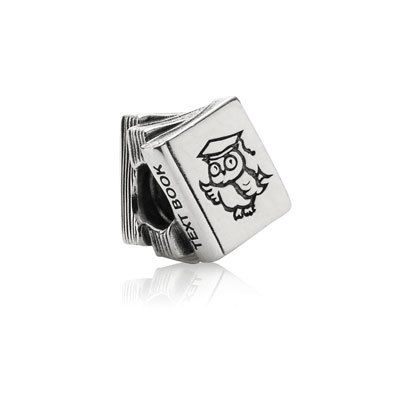 Are you going back to school? Mark the beginning of the new school year with this cute text book charm. $50 #PANDORA #PANDORAcharm #Study