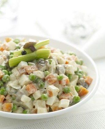 """Olivye"" - Recipe For Russian Potato Salad"