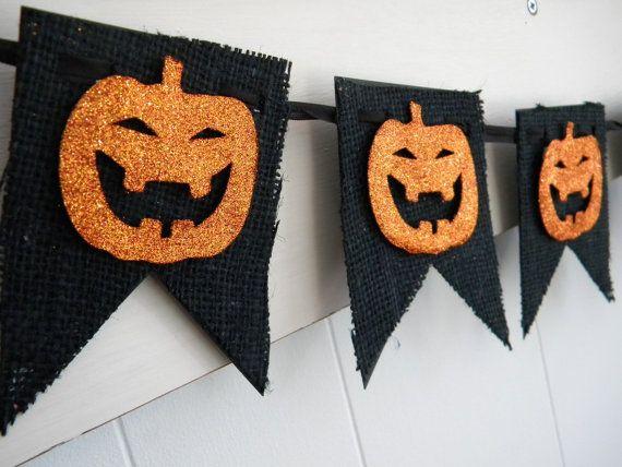 Trick or Treat Halloween Banner Vintage by LittlePumpkinPapers