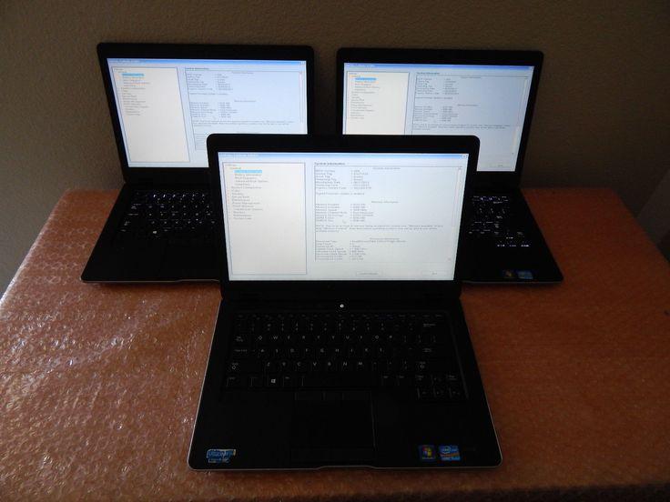 Lot of 3 Dell Latitude 6430u i5-3437U 1.9GHz 8GB RAM No SSD No OS Notebooks