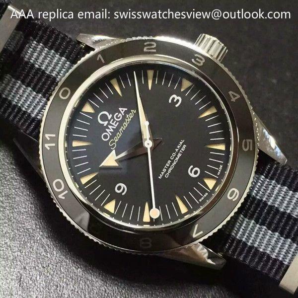OMEGA SEAMASTER 300 Spectre NATO strap LIMITED EDITION OMEGA SEAMASTER 300 Spectre NATO strap LIMITED EDITION [233.32.41.21.01.001] - $297.00 : Chanel j12 White/black Ceramic Watches Price List