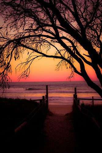 Sunset - Victoria, Australia  - Explore the World with Travel Nerd Nici, one Country at a Time. http://TravelNerdNici.com