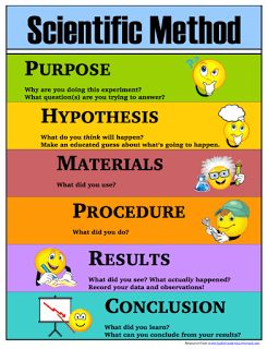 Scientific Method Printables: Posters, Lab Sheets, Bookmarks - Half a Hundred Acre Wood                                                                                                                                                                                 More