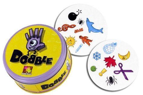 Créer son propre jeu Dobble / Spot It. Fichier PDF gratuit à télécharger avec les combinaisons pour imprimer ses cartes dobble. Explications.