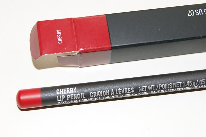 Mac Cherry lipliner. beautiful even on its own. don't believe me? take one look at kandee Johnson!