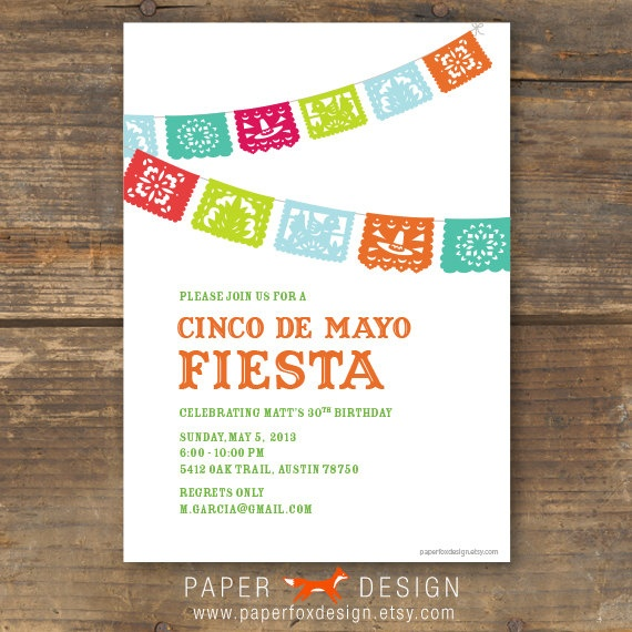 Mexican Party Invite was awesome invitation layout