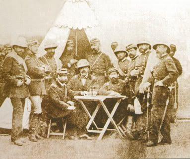 Primer Estado Mayor General, del Ejército chileno, hacia 1880