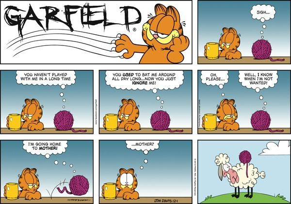 Garfield for 12/1/2013 | Garfield | Comics | ArcaMax Publishing