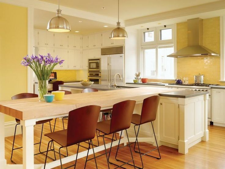 Kitchen Table Island Combination Image Result For Kitchen Islands With Seating For 6