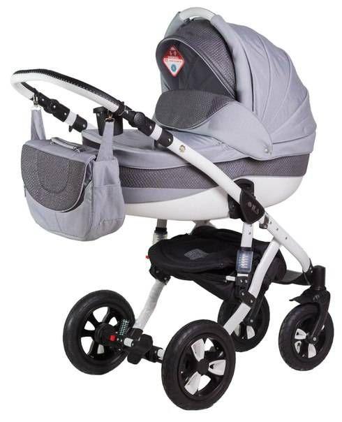 Детская коляска Adamex 2в1 Avila pik 18  Цена: 280 USD  Артикул: tw5690  Детская коляска Adamex 2в1 Avila – новинка 2015 года. Легкая алюминиевая рама с двойным амортизатором, накачиваемые колеса, два из которых поворотные, обеспечивают комфорт передвижения по любому покрытию. Благодаря применению адаптера типа click-clack можно легко и быстро менять модули. Модель отличается современным и элегантным дизайном. Люльку и прогулочный блок можно установить лицом или спиной по направлению…