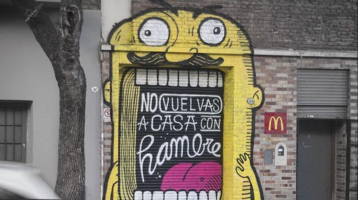 Mcdonald's se sirve del street art en su última campaña (Yosfot blog)