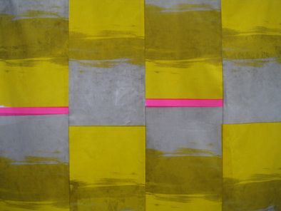 Urban Industrial. Handprinted fabric by Smitten Design Textiles.