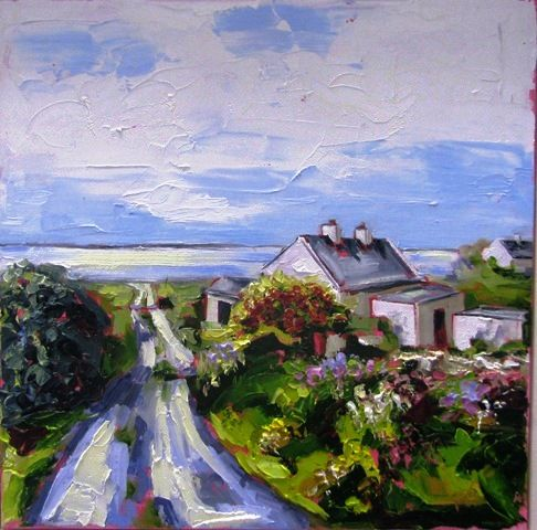 Road Down To Clahane by Roisin O'Farrell, Artist - Lahinch Art Gallery