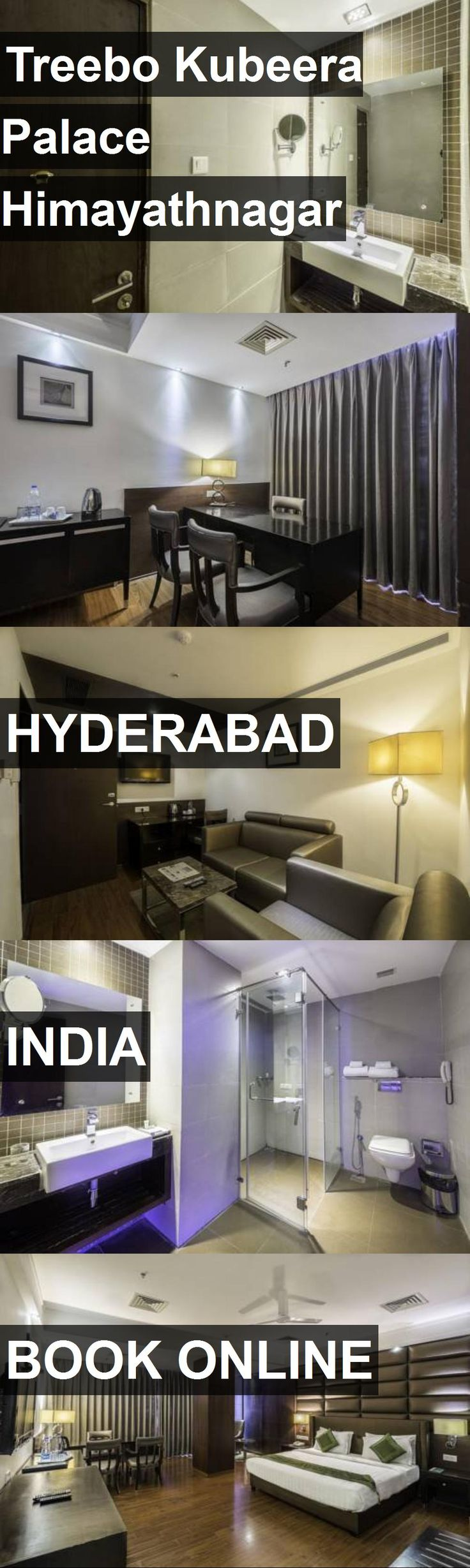 Hotel Treebo Kubeera Palace Himayathnagar in Hyderabad, India. For more information, photos, reviews and best prices please follow the link. #India #Hyderabad #travel #vacation #hotel