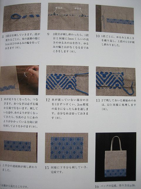 Kogin embroidery book