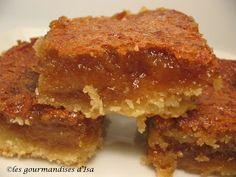 Les gourmandises d'Isa: CARRÉS AU SIROP D'ÉRABLE CARRÉMENT DIVINS
