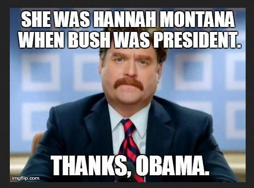 Everything got worse when Obama became president......