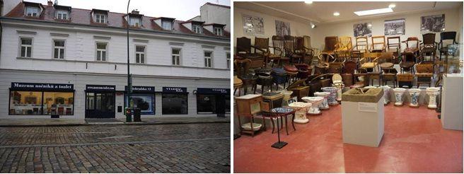 Muzeum nočníků a toalet v Praze.