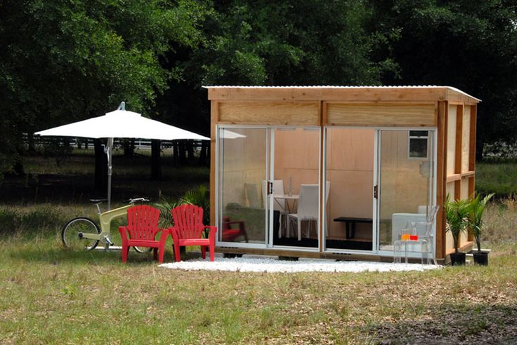 Tiny house tiny house swoon tiny house modern cabin for Building a prefab shed