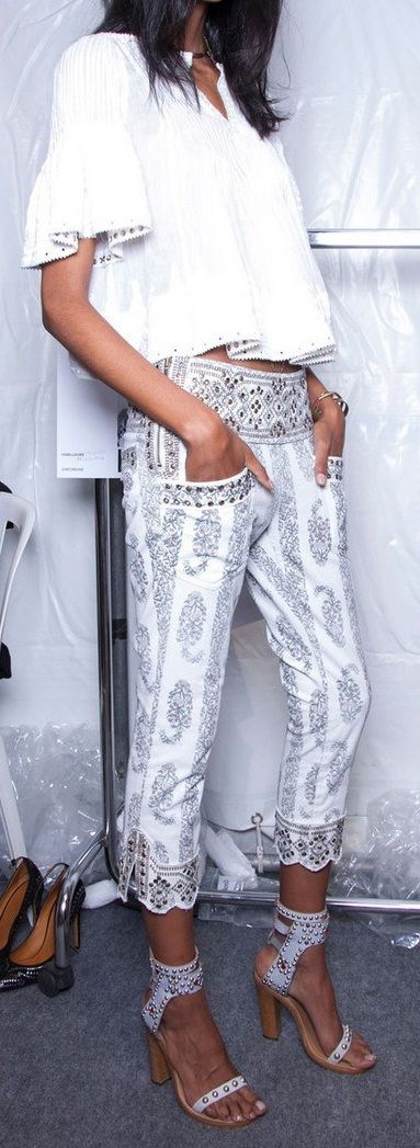 Stylist fix: OMG I love these pants!! Would love something similar for spring fix!!!