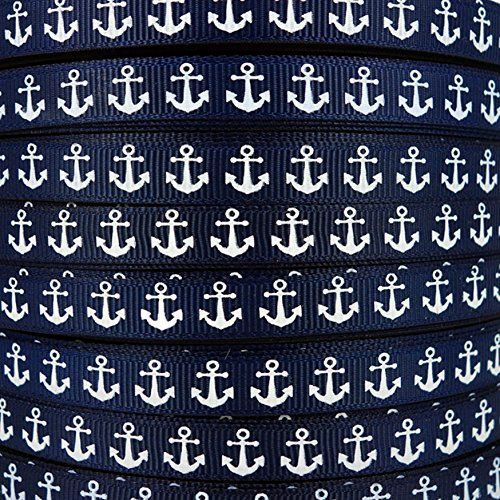 46 best boats images on pinterest paper boats origami boat and 50yds 38 nautical anchor printed navy blue grosgrain ri https fandeluxe Gallery