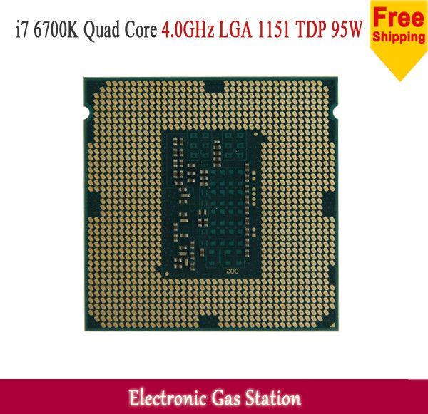 Original Processor Intel i7 6700K 14nm Quad Core 4.0GHz LGA 1151 TDP 95W 8MB Cache CPU