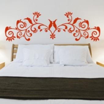 les 48 meilleures images du tableau stickers t te de lit sur pinterest stickers tete de lit. Black Bedroom Furniture Sets. Home Design Ideas