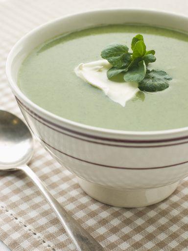 Recette de Soupe simplissime de cresson et pommes de terre