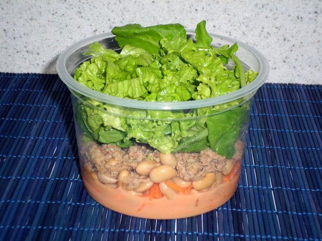 Menu Criativo: Salada no Pote I