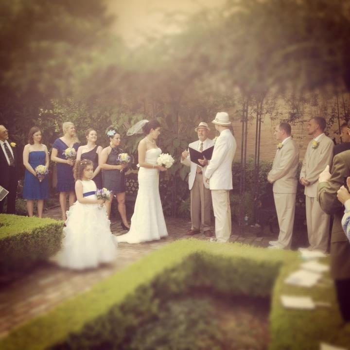 New Orleans Weddings The Garden at Beauregard Keys