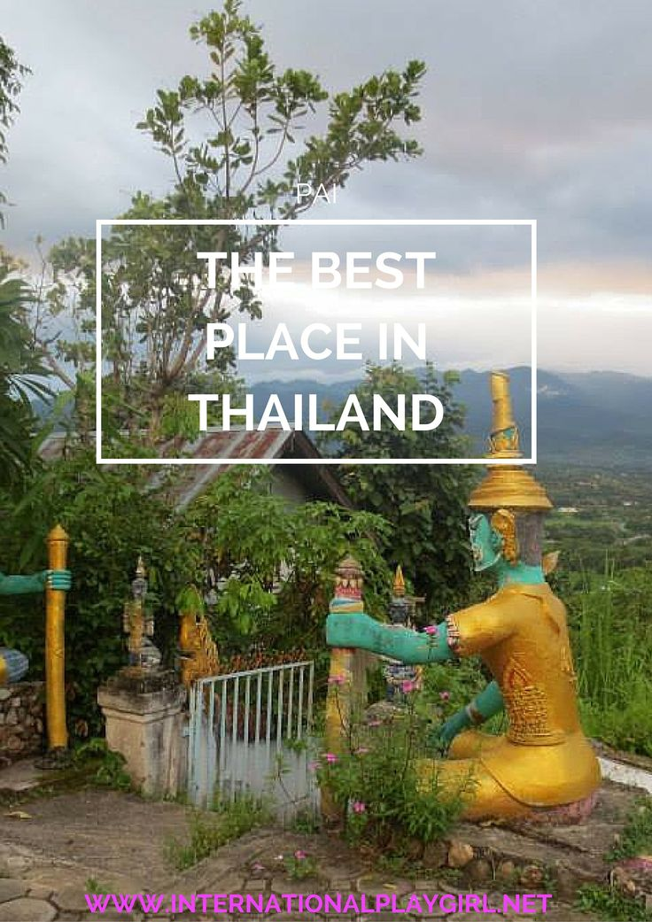 Pai is without a doubt my absolute favourite part of Thailand! If you're travelling in Thailand do not miss Pai off of your itinerary. Read on to find out exactly why it's so amazing.