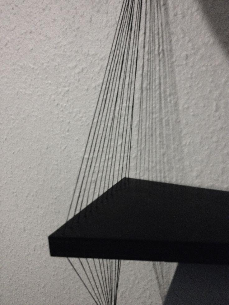 String Shelf by Sofie Dybdal Hansen #String #Shelf #Hylde