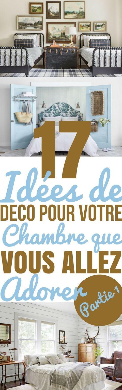 La chambre c'est un endroit qui est fait pour qu'on puisse se détendre et se relaxer. Alors c'est sûr que le design des chambres a un impact sur la valeur de la maison, mais c'est d'abord et surtout un espace qui doit être conçu pour nous. C'est donc très important de se créer un espace que nous allons adorer ! Quel que soit votre budget, c'est plutôt facile de changer le look d'une chambre. Vous pouvez ajouter des meubles...#décoration #chambre #interieur #interieurdesign #idéesdéco
