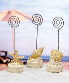 FashionCraft 5340 Beach Themed Placecard Holders   #Fashioncraft #wedding #favor