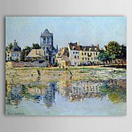 Famous Oil Painting by the River at Vernon by Cla... – AUD $ 89.05