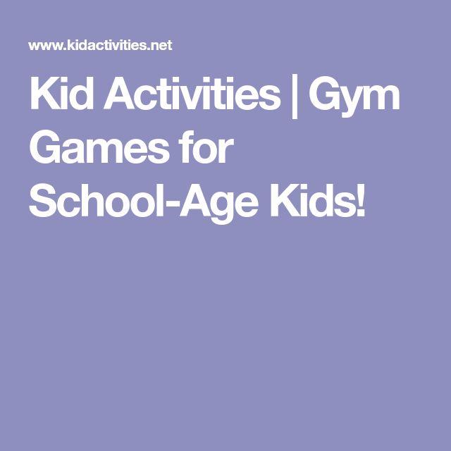 Kid Activities | Gym Games for School-Age Kids!