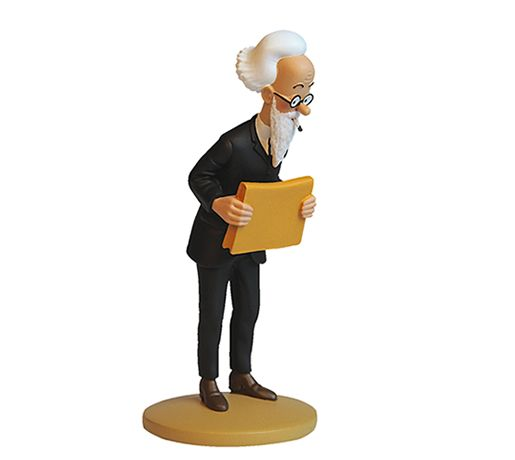TINTIN FIGURINE NUMERO 87 COLLECTION disponible en France et en Belgique : Nestor Halambique Référence de la figurine : Le Sceptre d'Ottokar, planche 2, case B2