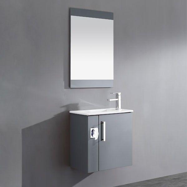 petit meuble de salle de bain de type lave mains est idéal pour les