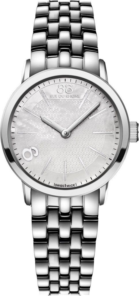 @88rdr Watch Double 8 Origin 29mm Ladies #add-content #bezel-fixed #bracelet-strap-steel #brand-88-rue-du-rhone #case-material-steel #case-width-29mm #delivery-timescale-1-2-weeks #dial-colour-white #gender-ladies #limited-code #luxury #movement-quartz-battery #official-stockist-for-88-rue-du-rhone-watches #packaging-88-rue-du-rhone-watch-packaging #style-dress #subcat-double-8-origin-ladies #supplier-model-no-87wa140021 #warranty-88-rue-du-rhone-official-2-year-guarantee #water-res...