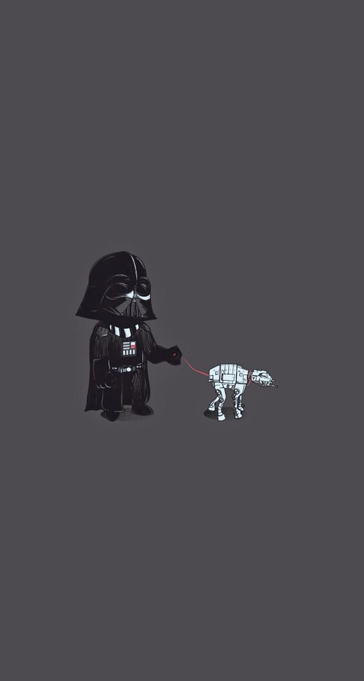Darth Vader Pet - #funny #starwars iPhone wallpaper @mobile9