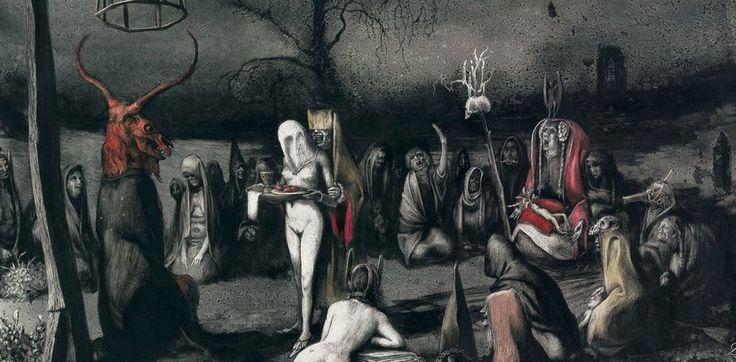 The Malefice, Album art for Pentagram Chile, Image via portal.xtreemmusic.com