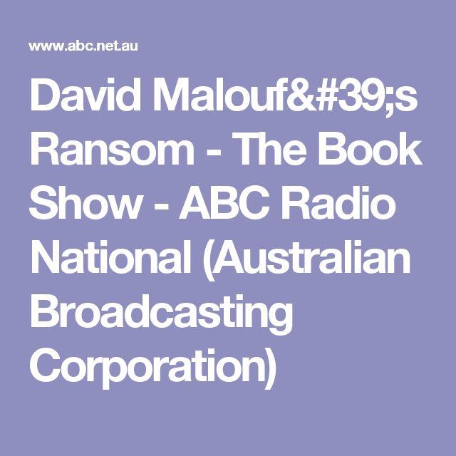 ransom by david malouf study guide