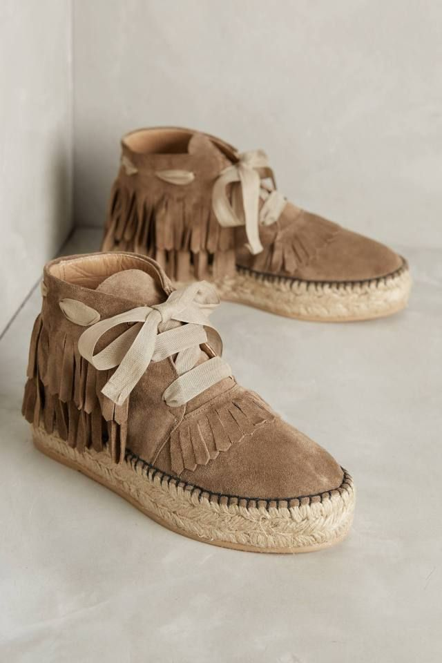 Suede Moccasin Espadrilles by Hoss Intropia