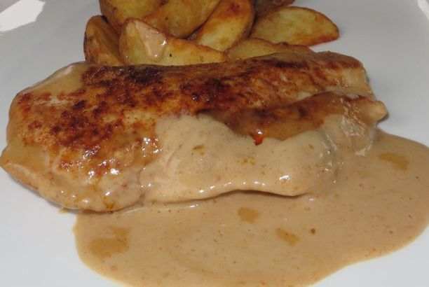 German Rahmschnitzel – Served with Creamy Sauce