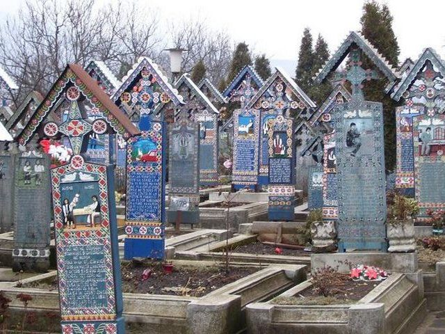 Sapanta (Maramures)-Cimitirul vesel