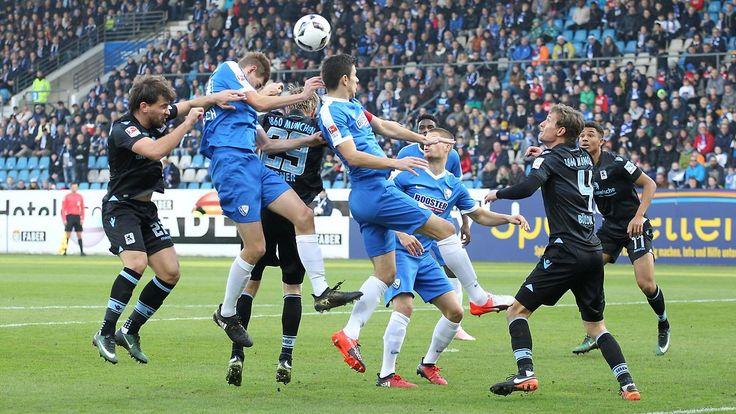 Schiedsrichter-Irrtum in Lautern: Bochum ringt 1860 nieder, Verbeek fliegt