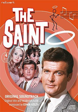 Roger Moore as The Saint (1961–1969).                                                                                                                                                                                 Más