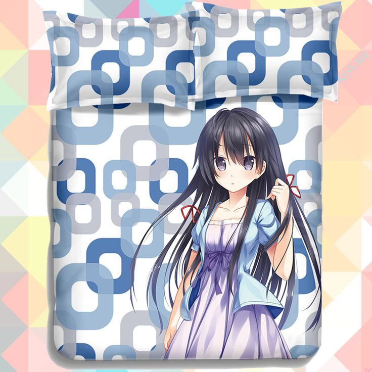 Anime Cartoon  My youth romantic comedy is wrong as I expected Yukinoshita Yukino Quilt Cover Bedding Set Duvet Cover Set